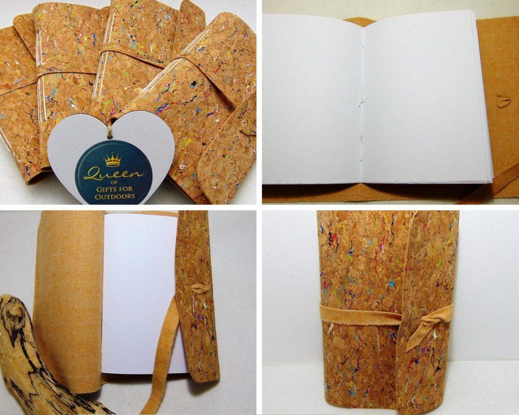 Traveller Notebooks - Cork Fabric - Adventure Accessories