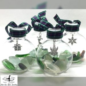 Loch Ness Christmas Baubles